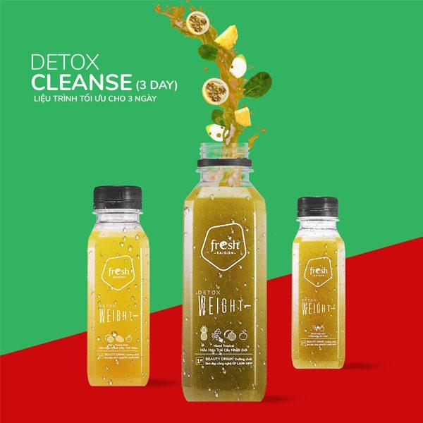 Beauty Drink Detox Cleanse 3 Thanh Loc Thai Doc Tuoi Tre Tuc Thi