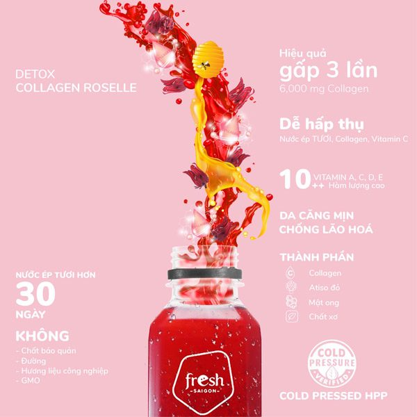 Beauty Drink Hon Hop Collagen Atiso Do 02